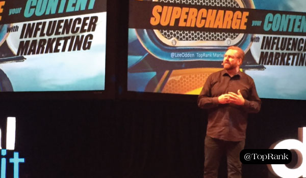 Lee Odden Shares Ways to Supercharge Your Content with Influencer Marketing