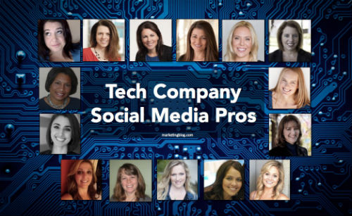 Women in Tech Social Media