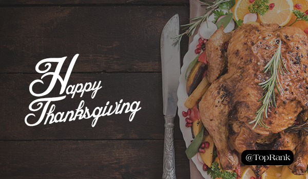 The TopRank Marketing Team Reflects & Gives Thanks