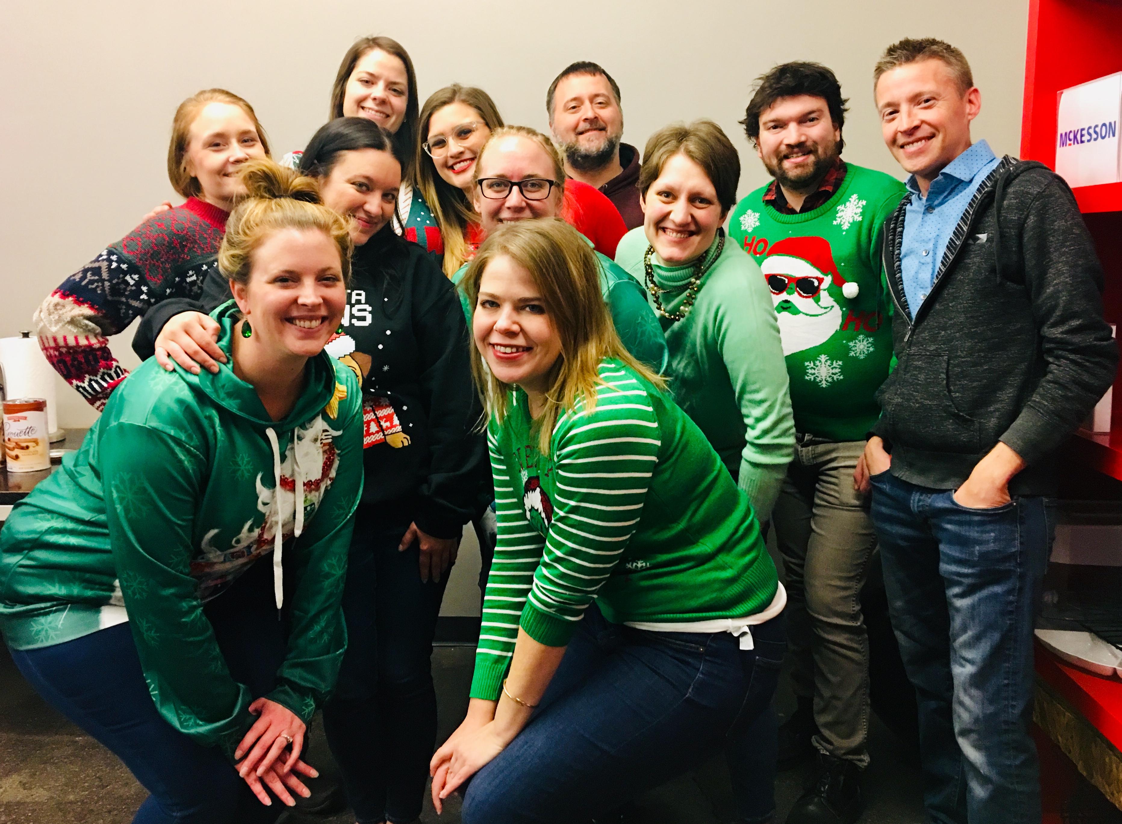 TopRank Marketing Ugly Sweater Day 2018